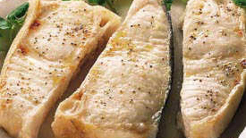 Broiled Fish Steaks