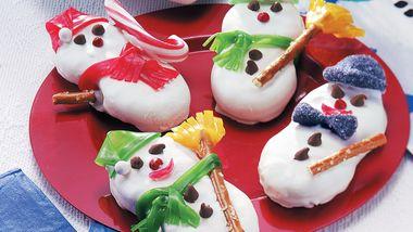 Peanutty Snowmen