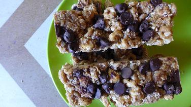 Barras de Granola con Cheerios™ y Maní