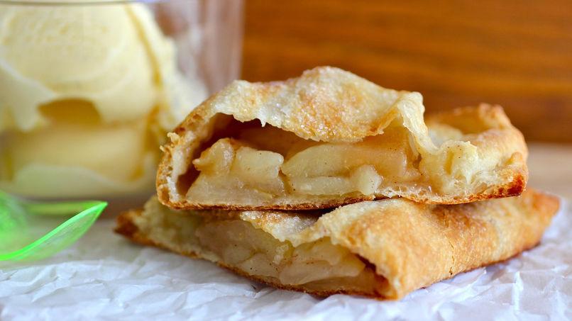 Calzone de Torta de Manzana