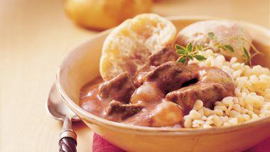 Slow-Cooker Greek Beef Stew