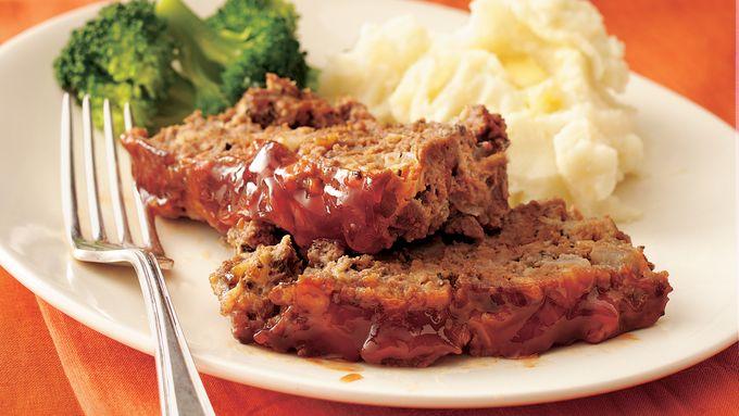 Maple-Glazed Meatloaf