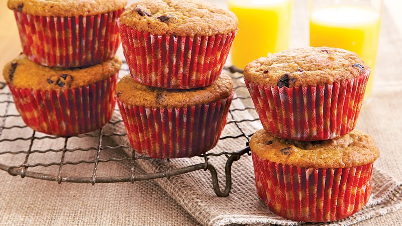 Cherry Wheat Germ Muffins