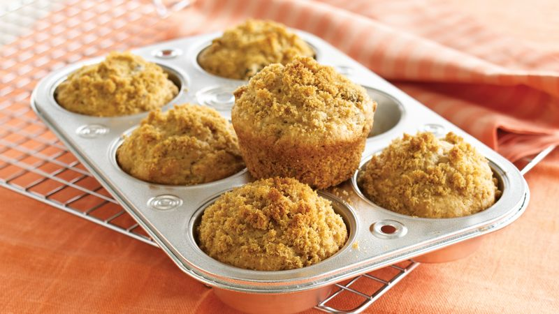 Maple-Nut-Raisin Muffins