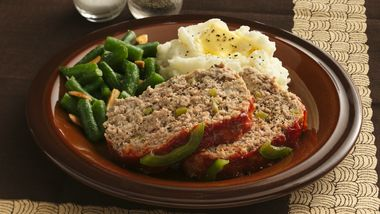 Savory Meatloaf (Makeover)