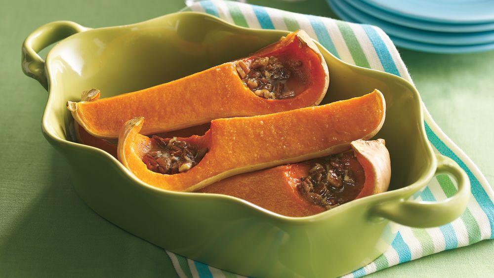 Orange-Pecan-Squash Bake