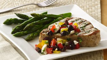 Mediterranean Tuna Steaks