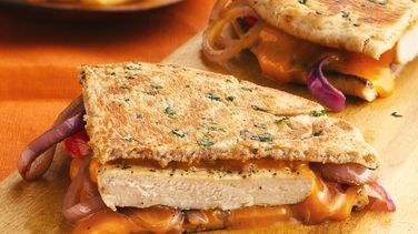 Herbed Chicken and Cheese Panini