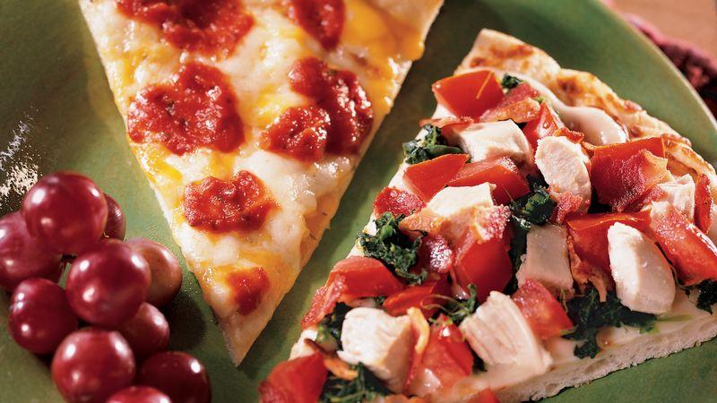 Chicken Club Pizza