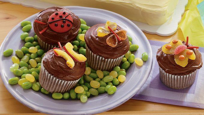 Crazy Critter Cupcakes