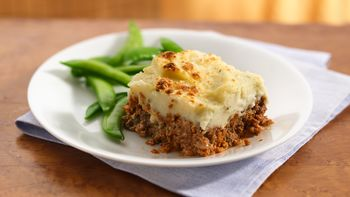 Garlic Potato-Topped Italian Meatloaf