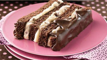 Decadent Chocolate Torte recipe from Betty Crocker