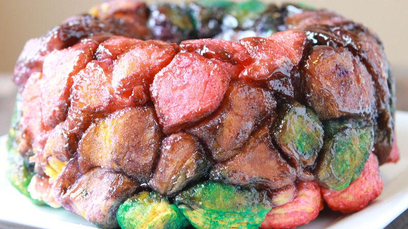 Tie-Dye Monkey Bread