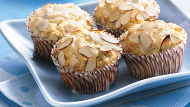 Almond-Tres Leches Muffins