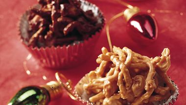 No-Bake Peanutty Clusters