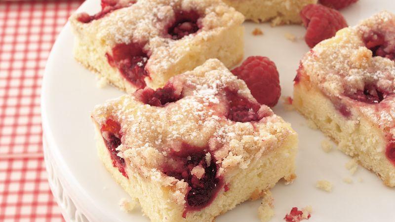 Raspberry Cake Bars