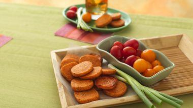 Parmesan-Tomato Rounds
