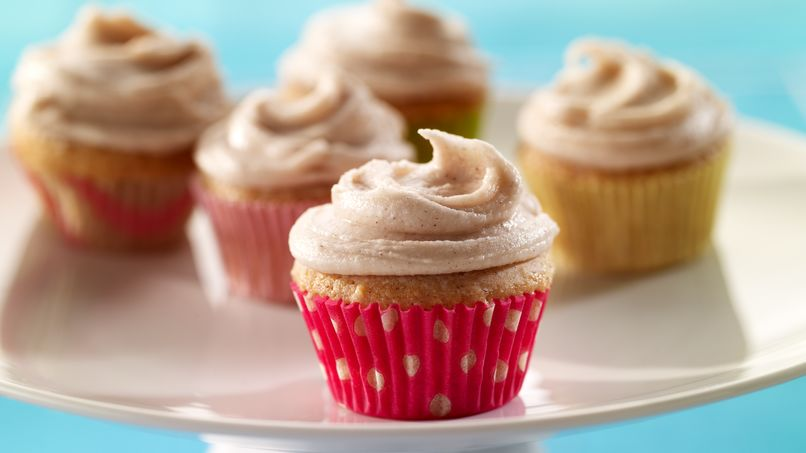 Mini Cinnamon Cupcakes