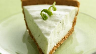 No-Bake Key Lime Yogurt Pie