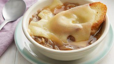 Sopa de Cebolla y Echalotes a la Francesa