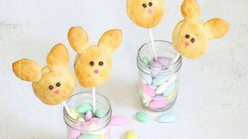 Jam-Filled Bunny Pops