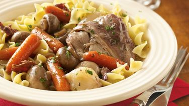 Slow-Cooker Chicken in Red Wine