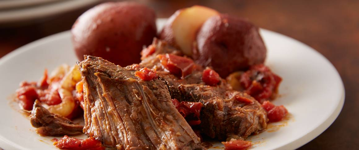Slow Cooker Mexican Pot Roast Recipe From Betty Crocker