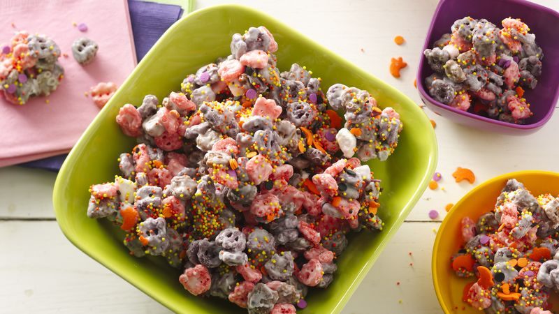 Monster Cereal Snack Mix