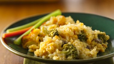 Cheesy Broccoli-Rice Bake