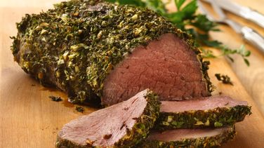 Elegant Beef Tenderloin with Herb-Dijon Crust