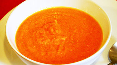 Carrot Soup with Cayenne Pepper