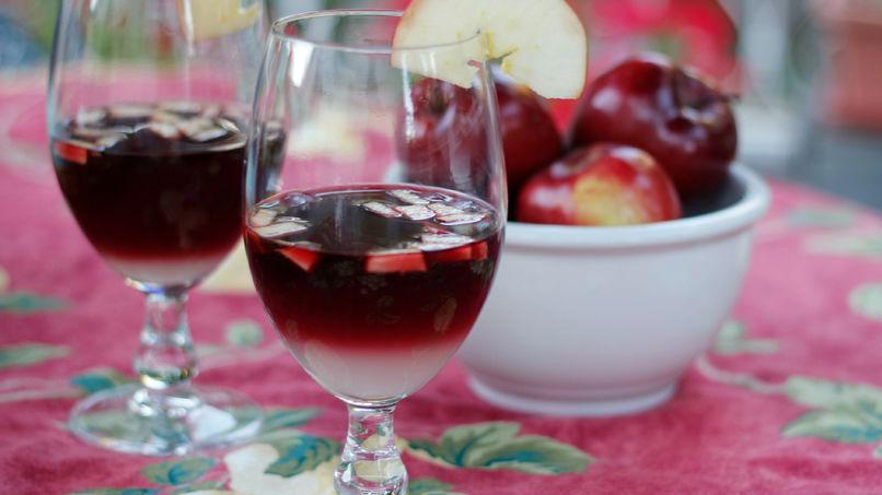 Sangría con Manzanas