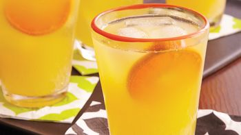 Blood Orange-Rum Punch