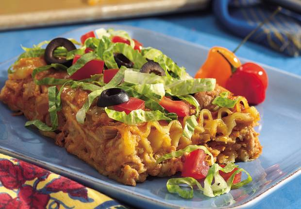Italy, with south-of-the-border favorites like refried beans, taco ...