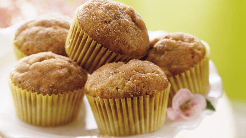 Banana-Cinnamon Muffins