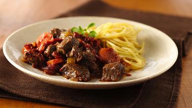 Slow-Cooker Chunky Beef Ragu