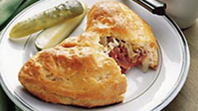 Grands!™  Stuffed Reuben Sandwiches
