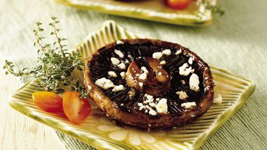 Portabella Mushrooms with Herbs