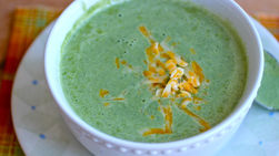 Creamy Broccoli and Spinach Soup