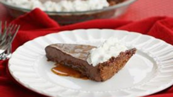 Salted Caramel Chocolate Pie