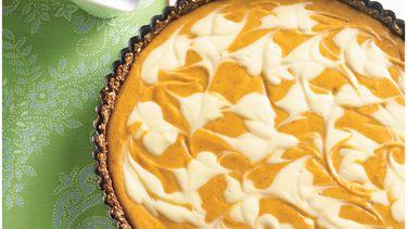 Pumpkin Cheese Tart