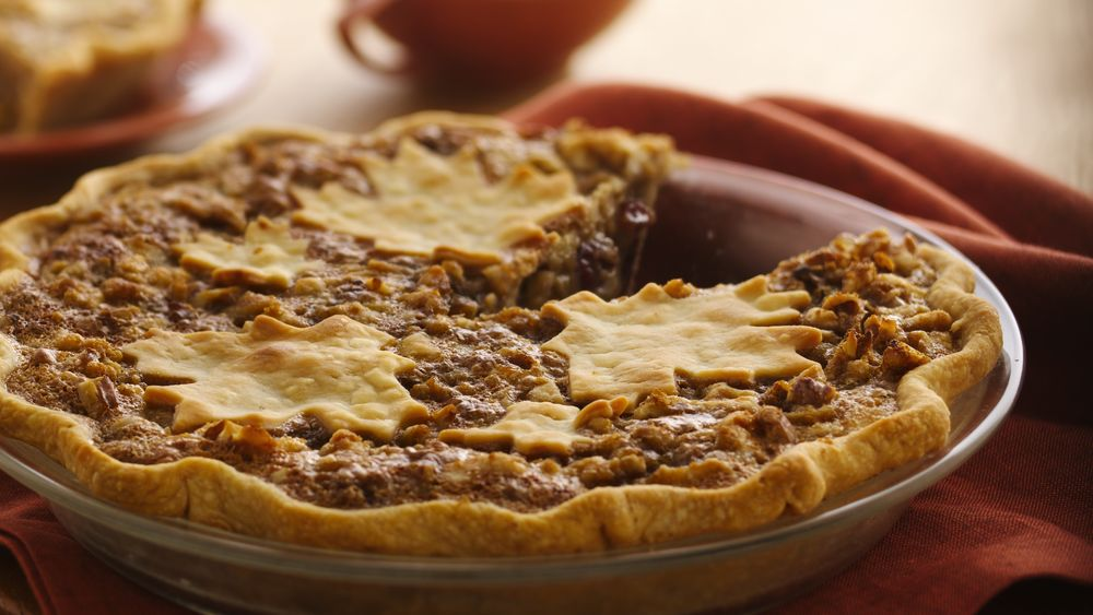 Cranberry-Raisin Maple Nut Pie