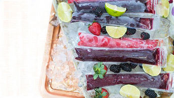 Frozen Margarita Pops