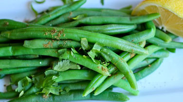 Green Beans with Lemon and Cumin Vinaigrette