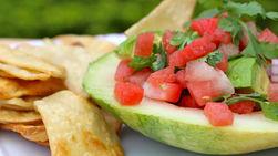 Watermelon and Avocado Sauce
