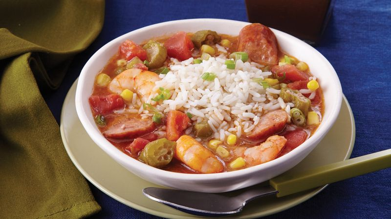 Slow-Cooker Shrimp Gumbo