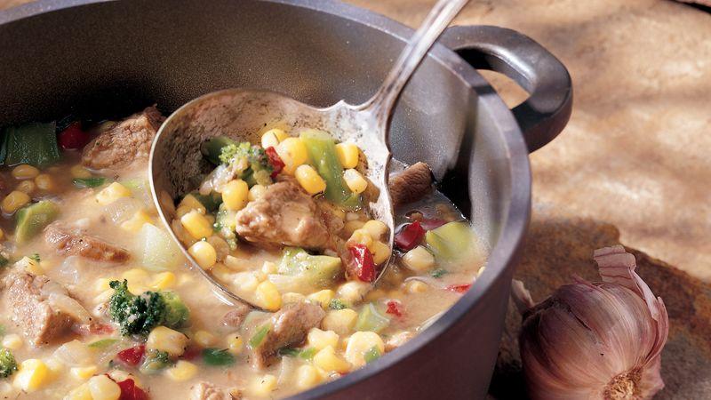 Southwestern Pork Stew