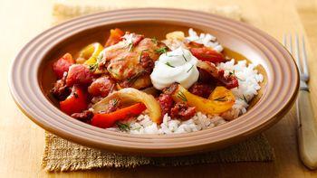 Make-Ahead Slow-Cooker Chicken Paprikash