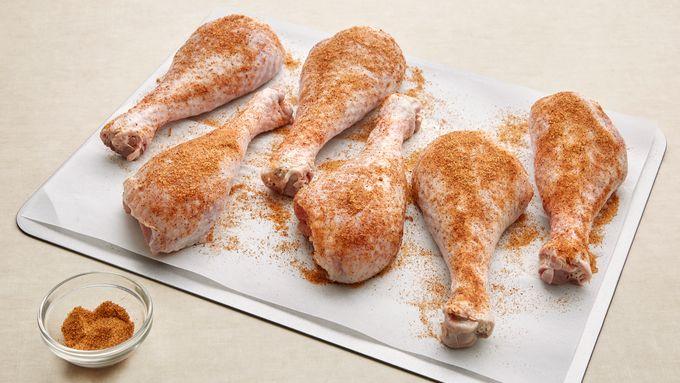 Cajun Deep Fried Turkey Legs Recipe Pillsbury Com
