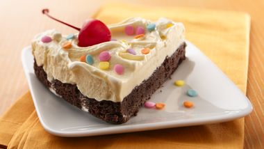 Brownie Ice Cream Torte